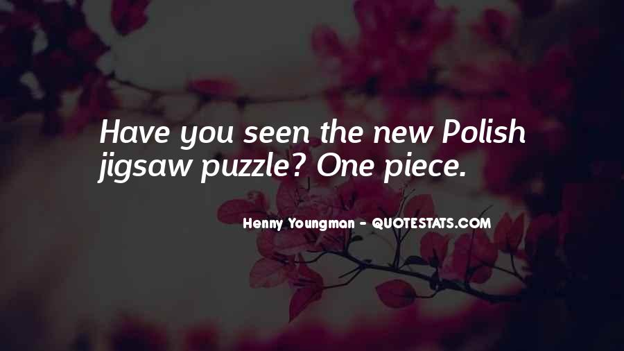 Jigsaw Piece Sayings #102357