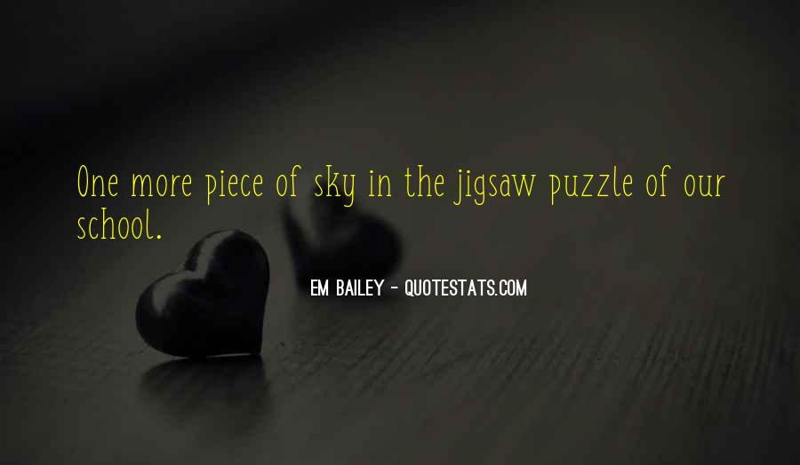 Jigsaw Piece Sayings #1239324