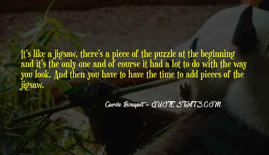 Jigsaw Piece Sayings #155512