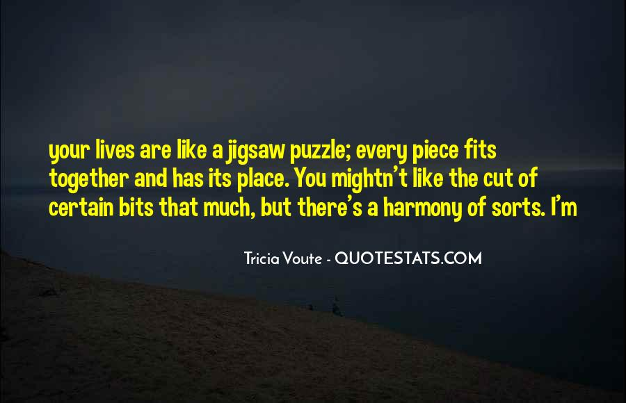 Jigsaw Piece Sayings #1597256