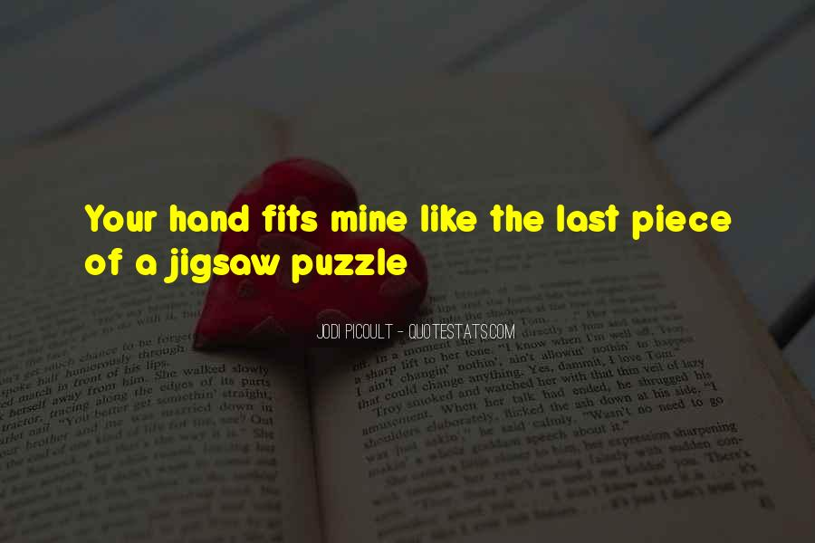 Jigsaw Piece Sayings #1797622