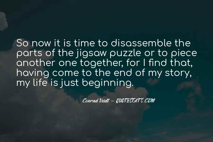 Jigsaw Piece Sayings #1828677