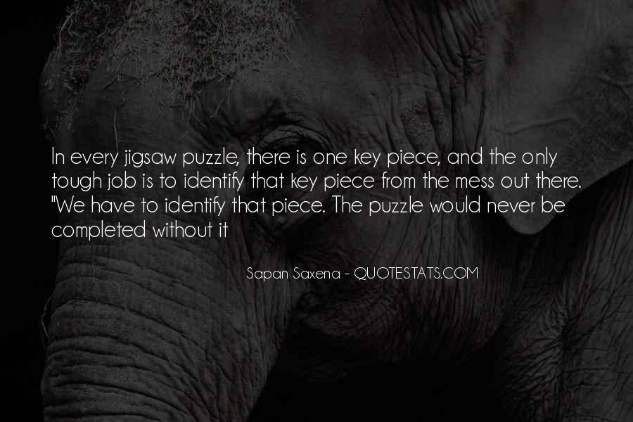 Jigsaw Piece Sayings #925519