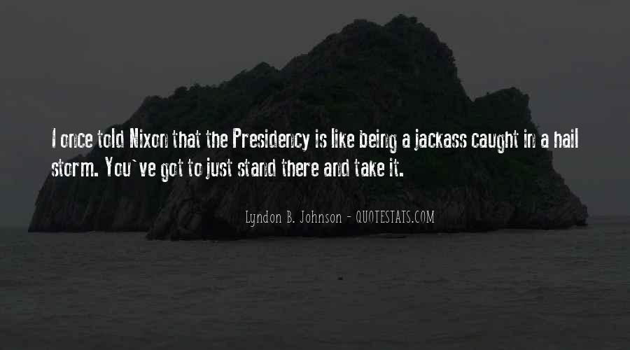 Lyndon Johnson Sayings #213597