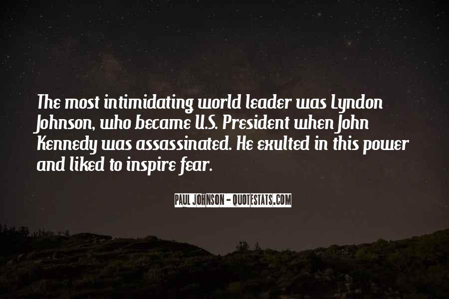 Lyndon Johnson Sayings #266865