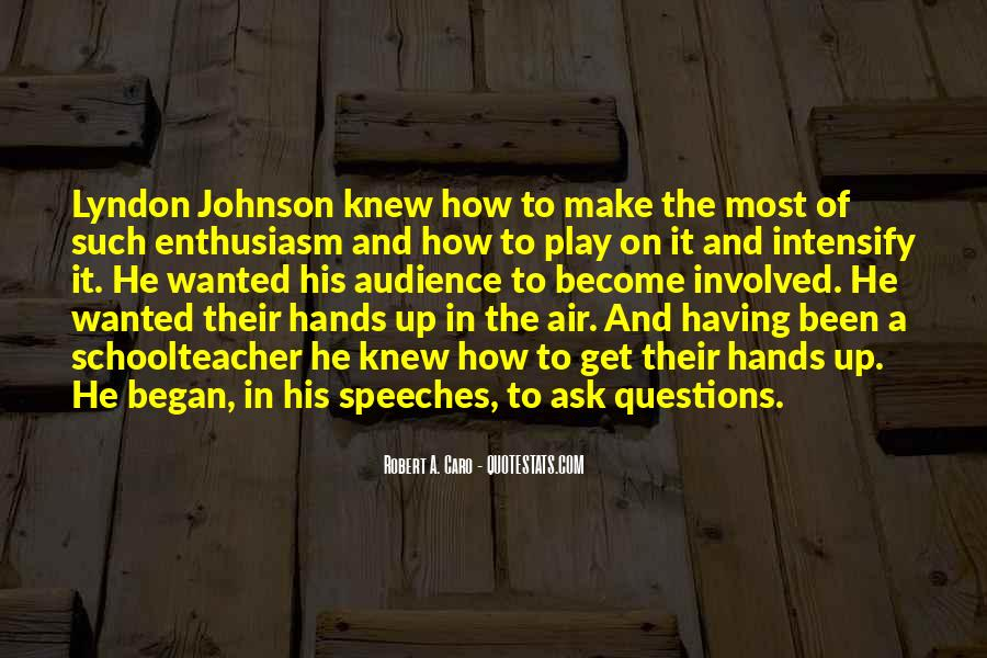 Lyndon Johnson Sayings #403800