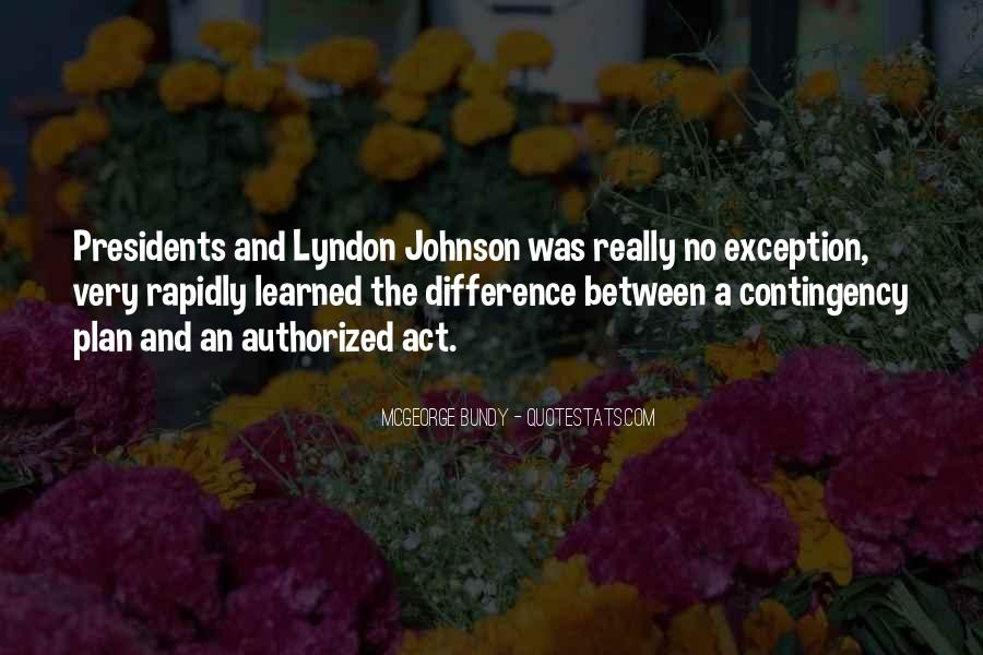 Lyndon Johnson Sayings #478307