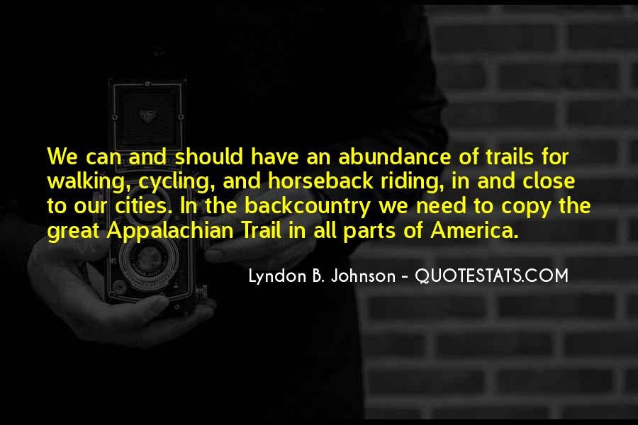 Lyndon Johnson Sayings #52852