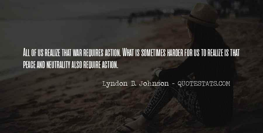 Lyndon Johnson Sayings #72917