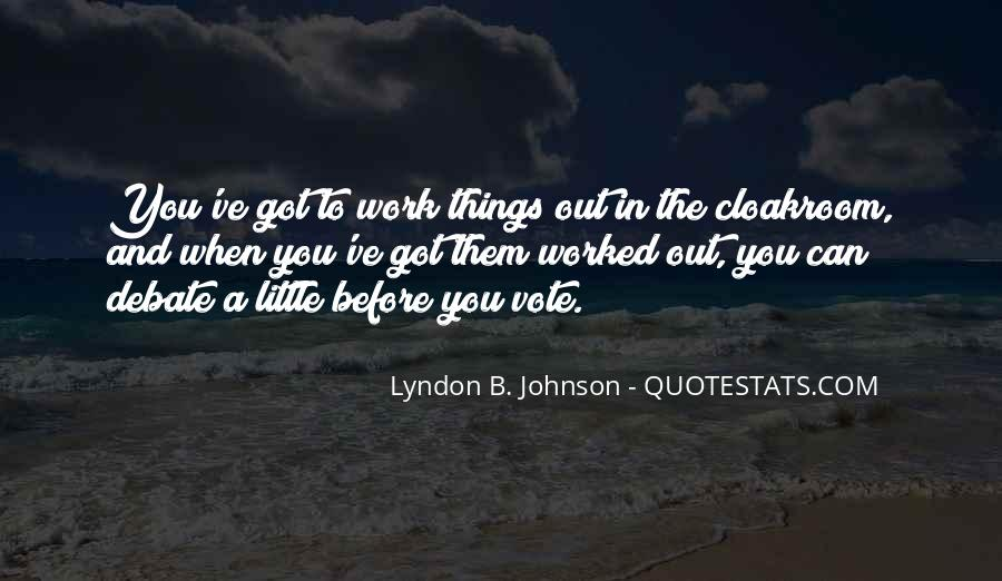 Lyndon Johnson Sayings #90037