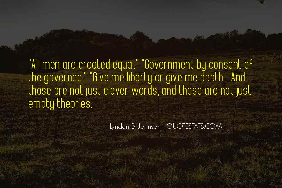 Lyndon Johnson Sayings #99294