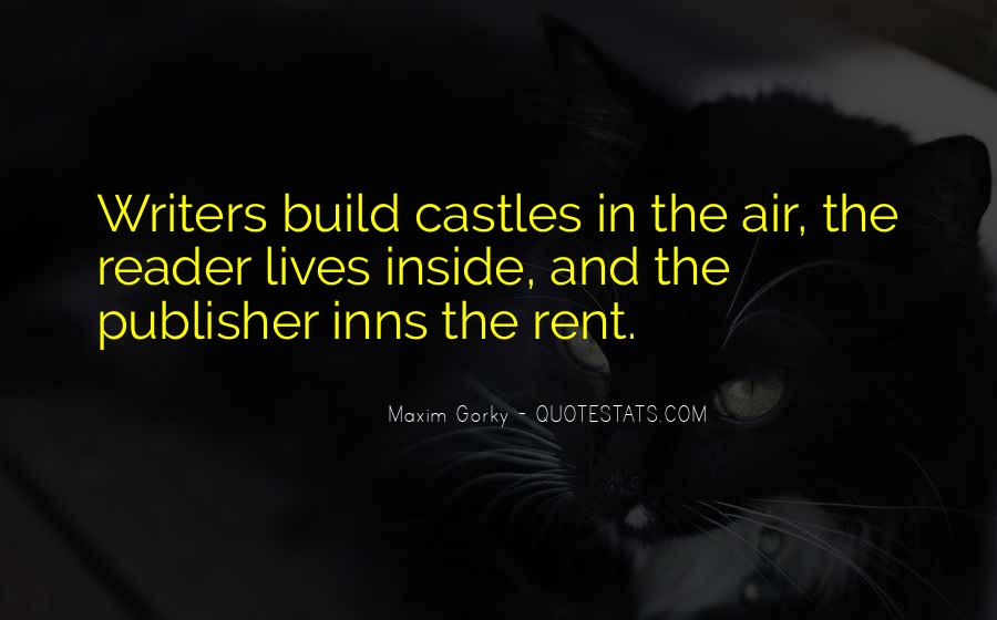 Quotes About Castles In The Air #1509790