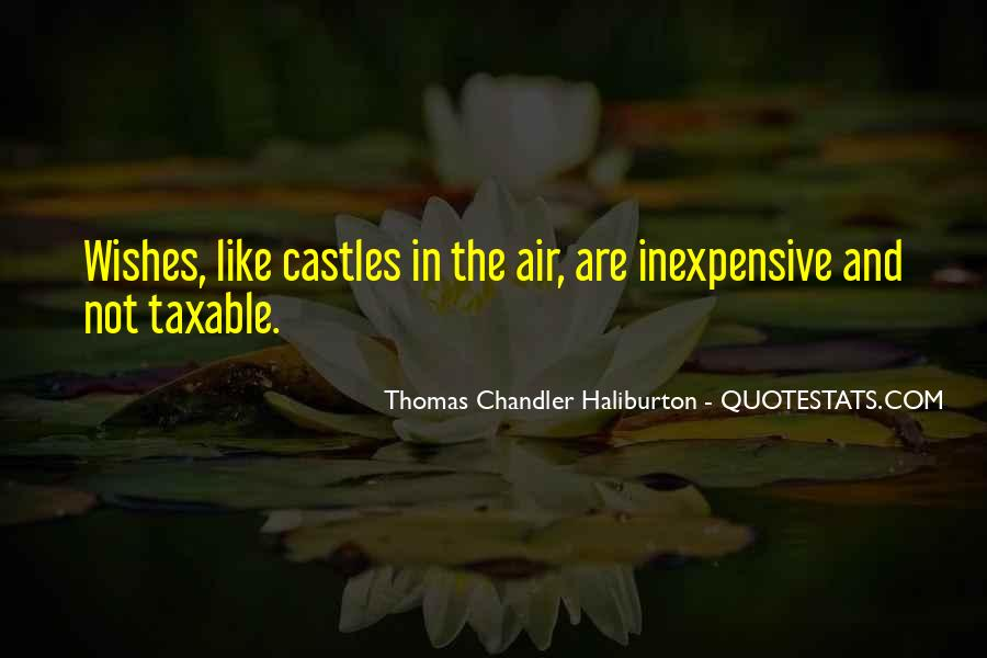 Quotes About Castles In The Air #1524214