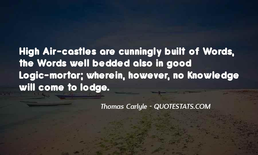 Quotes About Castles In The Air #1571085