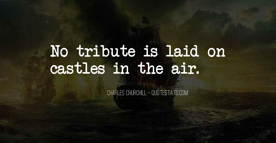 Quotes About Castles In The Air #349645