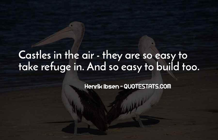 Quotes About Castles In The Air #972007