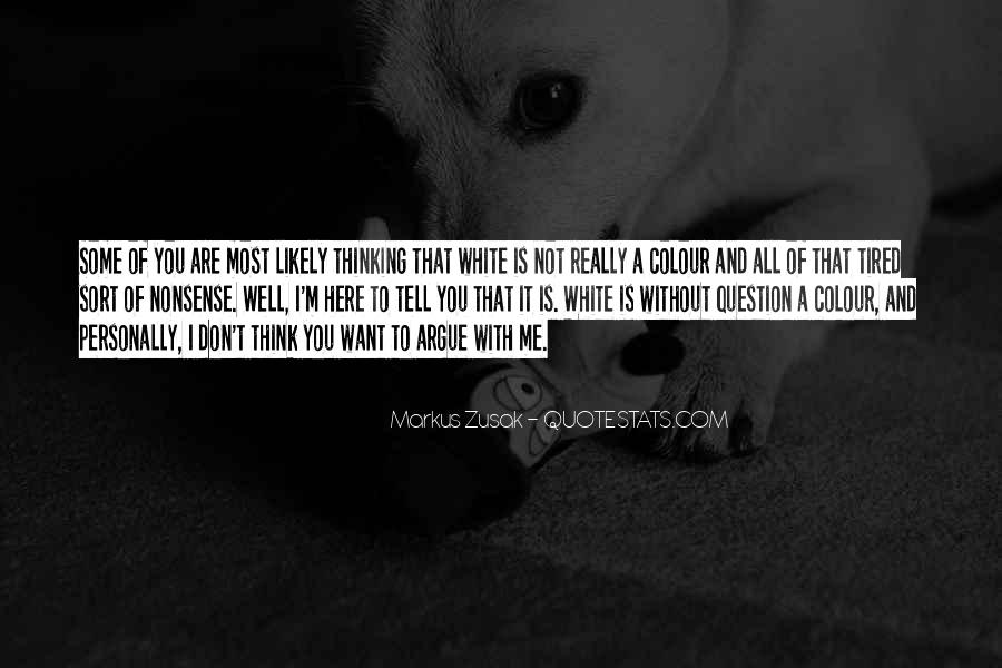 White Colour Sayings #1096687