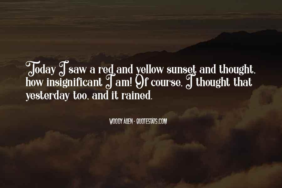 Red Sunset Sayings #1078164