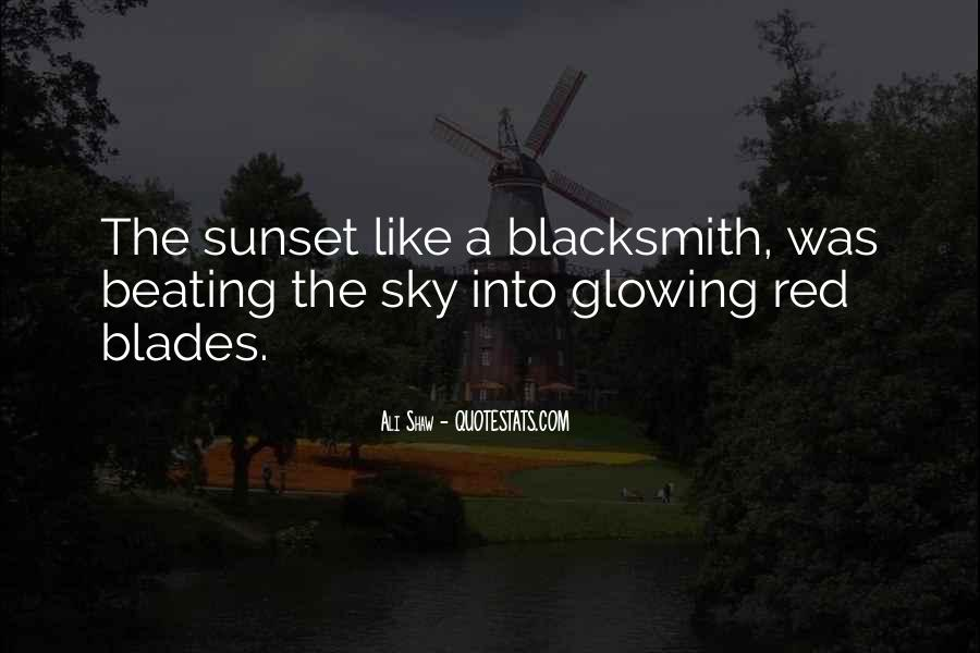 Red Sunset Sayings #1334452