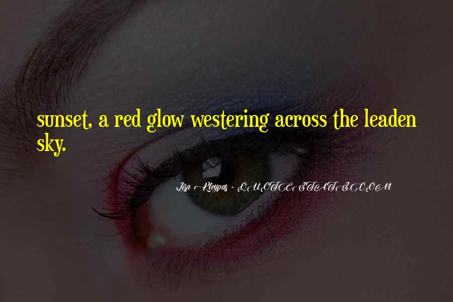Red Sunset Sayings #281253
