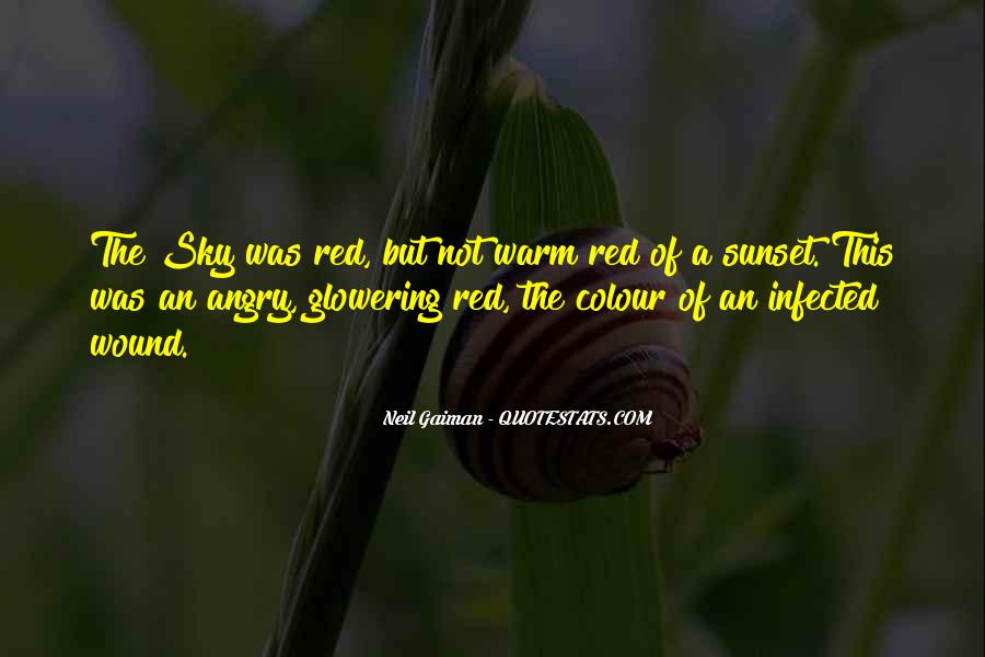 Red Sunset Sayings #293947