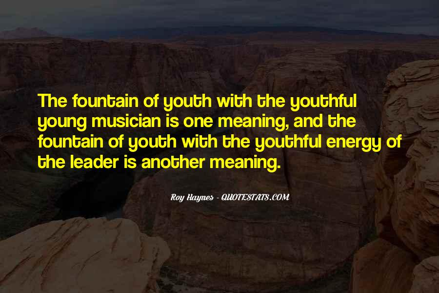 Youth Leader Sayings #1139916
