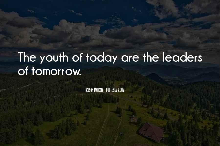 Youth Leader Sayings #458239