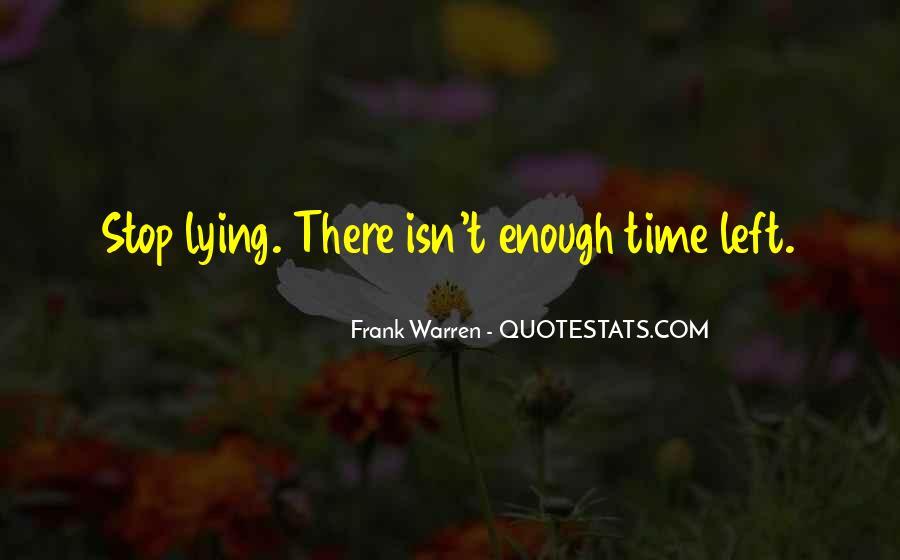 Stop Lying Sayings #1350375