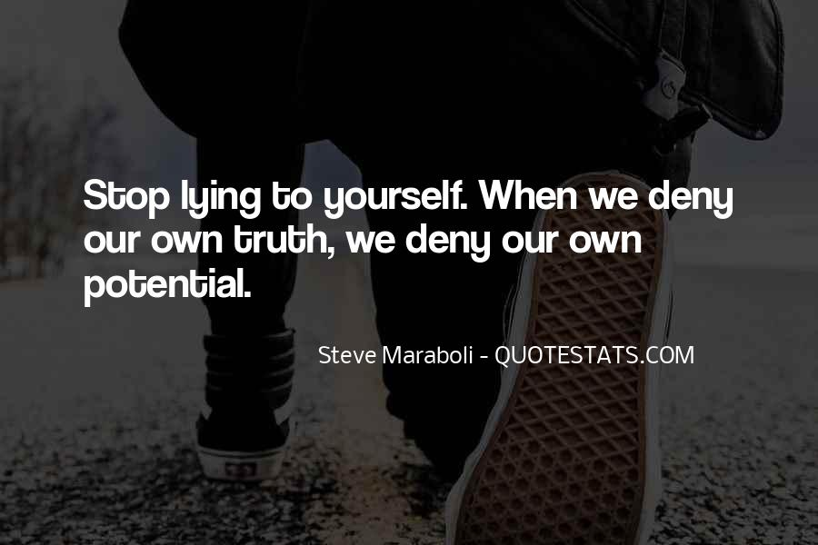 Stop Lying Sayings #174762