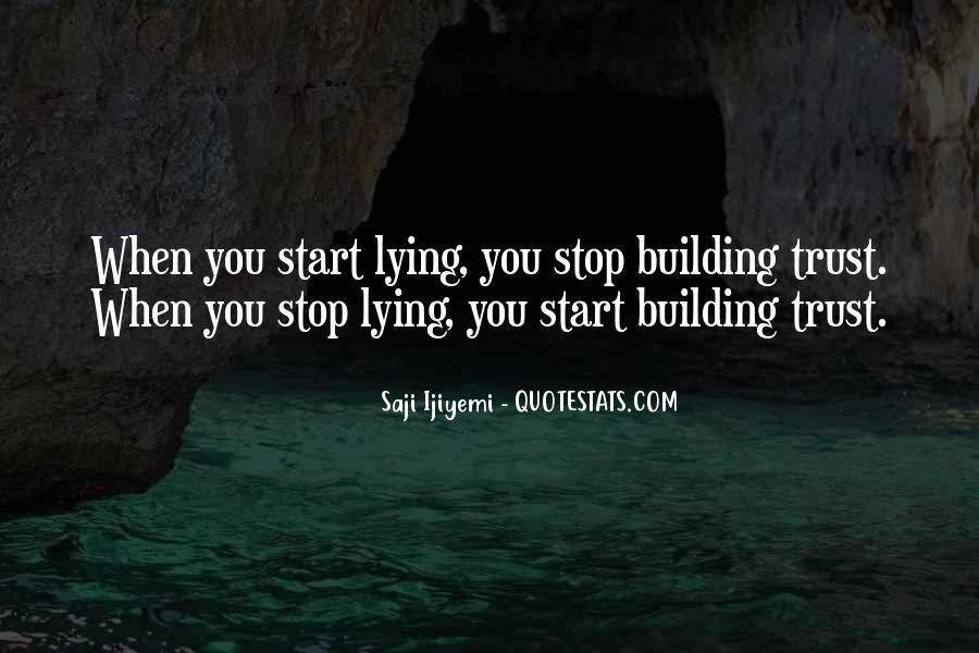 Stop Lying Sayings #499758