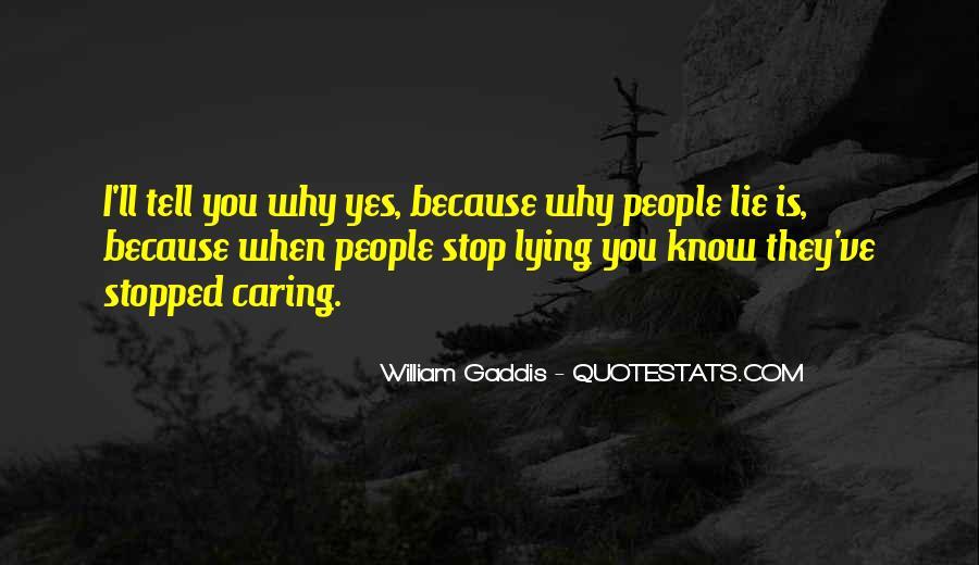 Stop Lying Sayings #86547