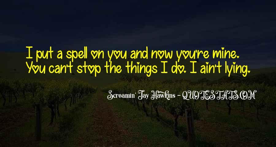 Stop Lying Sayings #9703