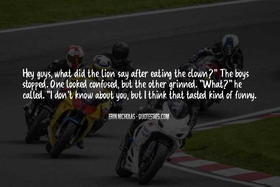 Funny Lion Sayings #5577