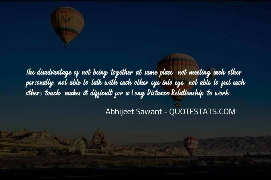 Long Distance Relation Sayings #17319