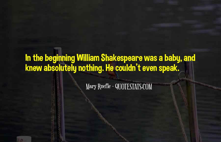 William And Mary Sayings #1538672