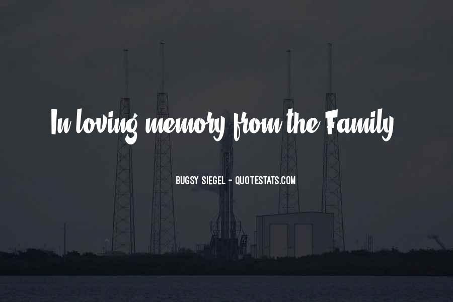 Family Memory Sayings #1229977