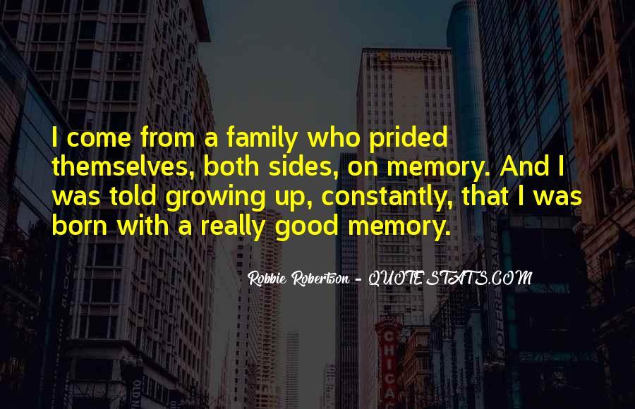 Family Memory Sayings #1494452