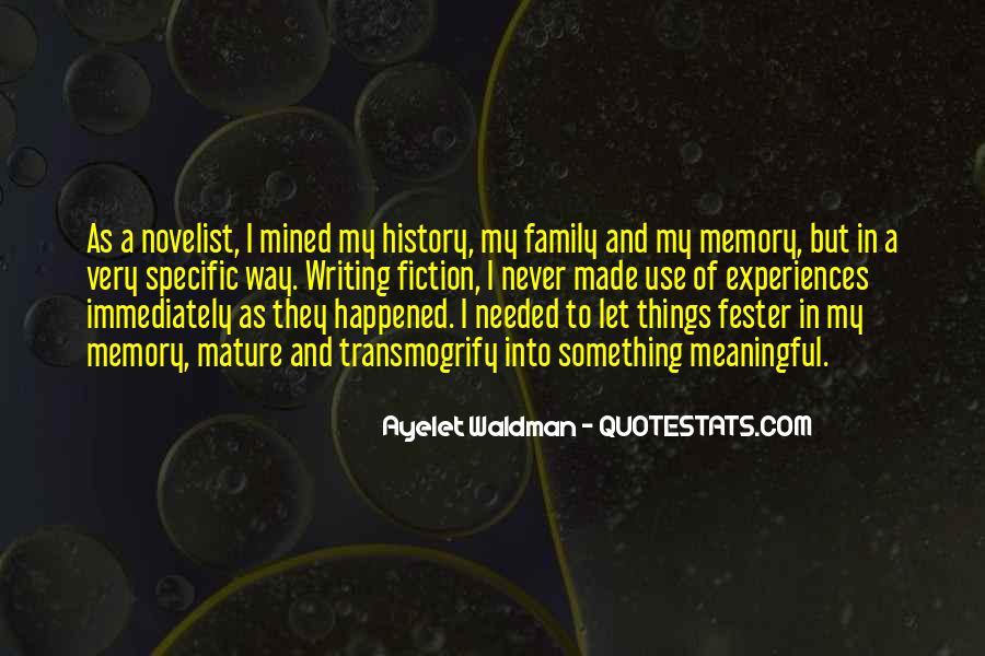 Family Memory Sayings #1802280
