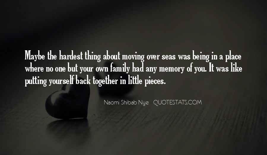 Family Memory Sayings #802331