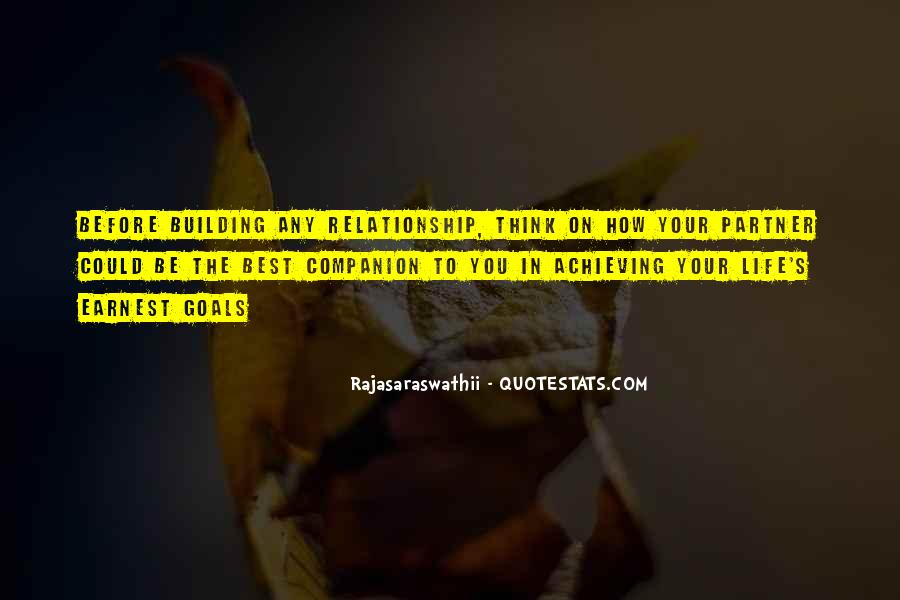 Partner Quotes And Sayings #1390704