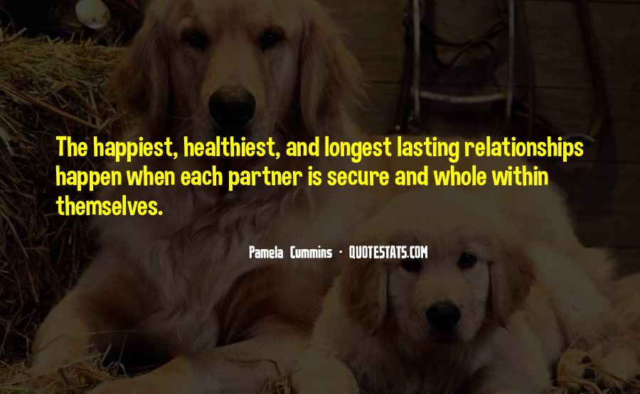 Partner Quotes And Sayings #1469428