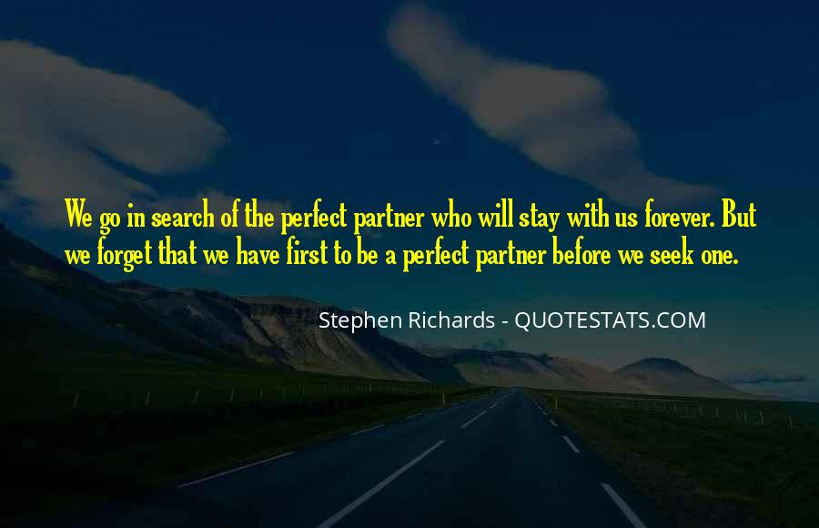 Partner Quotes And Sayings #1521310
