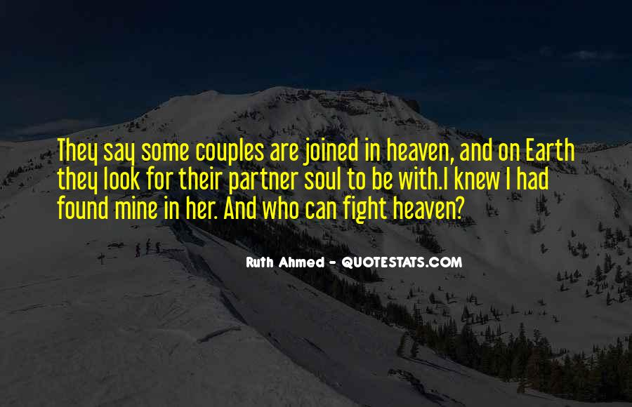 Partner Quotes And Sayings #1621052