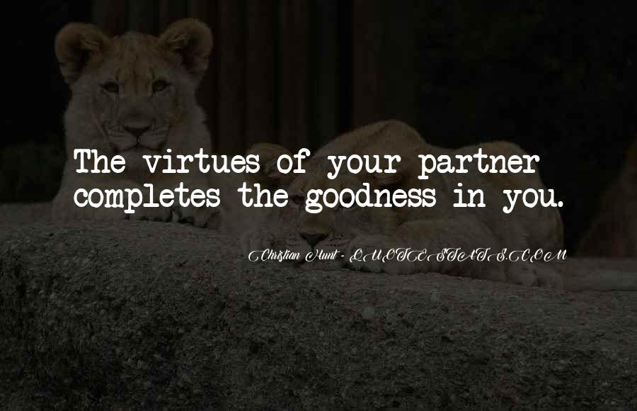Partner Quotes And Sayings #334167