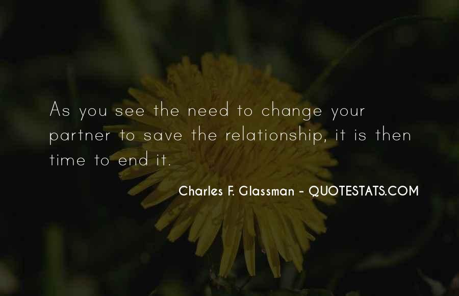 Partner Quotes And Sayings #712165