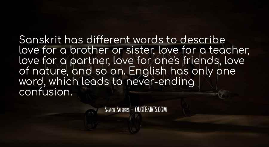 Partner Quotes And Sayings #958451