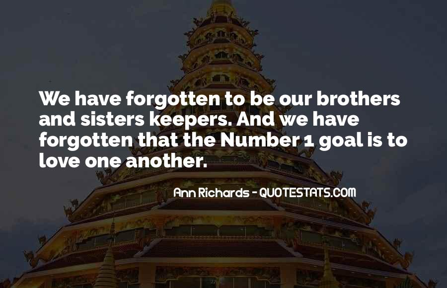 Quotes About Sisters And Brothers Love #1802128