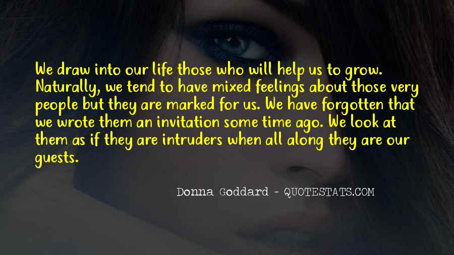 Quotes About Mixed Up Feelings #1473804