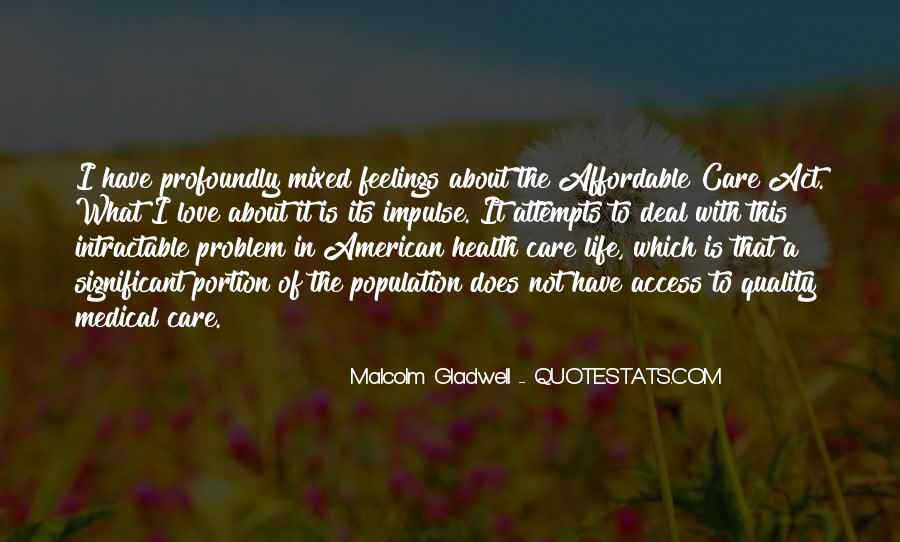 Quotes About Mixed Up Feelings #310763