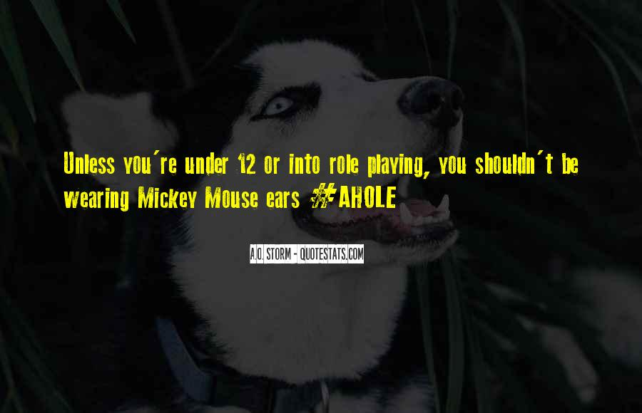 Mickey Mouse Funny Sayings #85869